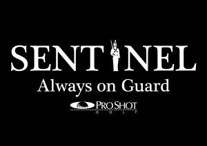 Sentinel Logo Black White